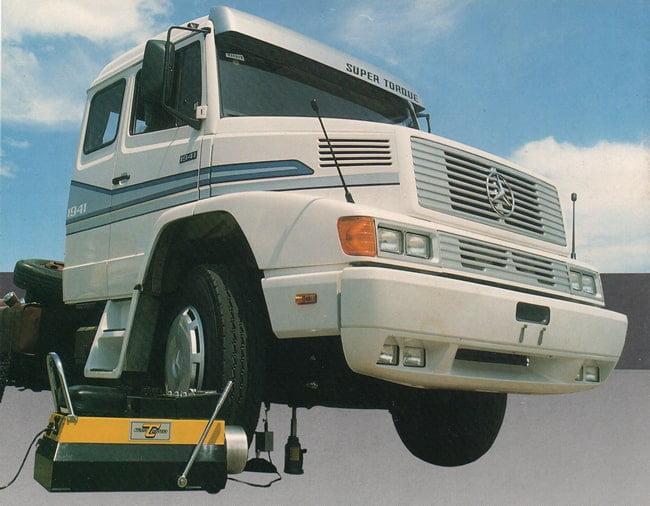 Balanceadora de Rodas Universal - 1989